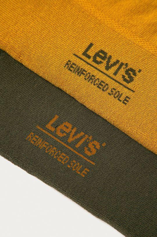 Levi's - Ponožky (2-pak) zelená