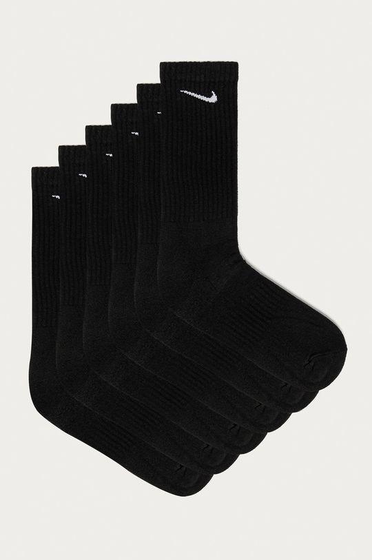 čierna Nike - Ponožky (6-pak) Pánsky