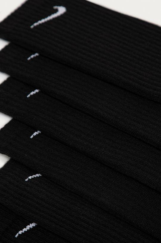 Nike - Ponožky (6-pak) čierna