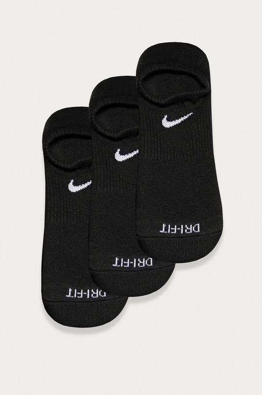czarny Nike - Stopki (3-pack) Męski