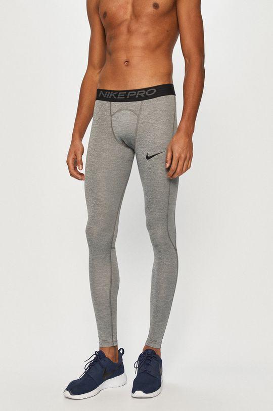 szary Nike - Legginsy Męski