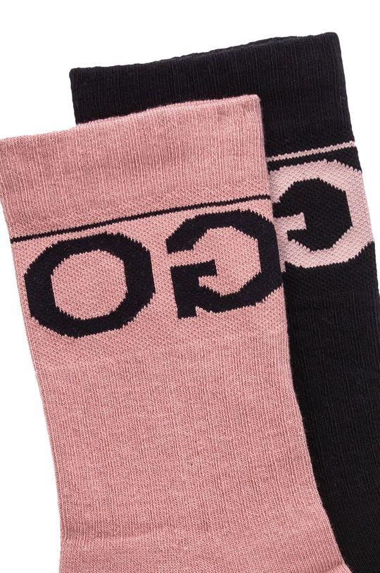 Hugo - Skarpetki (2-pack) różowy