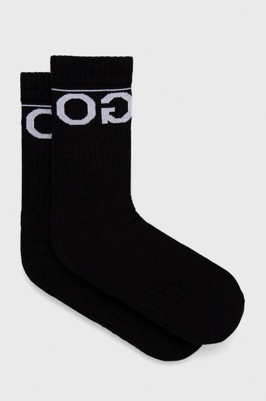 černá Hugo - Ponožky (2-pack) Unisex