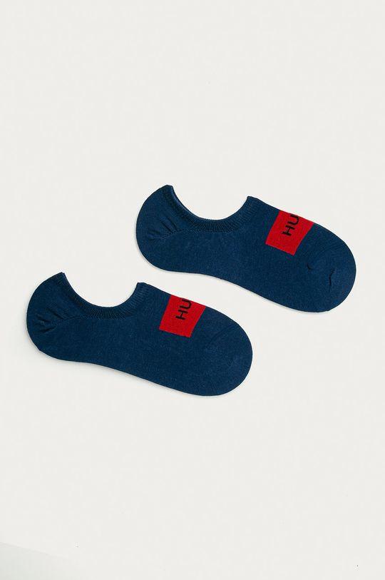 námořnická modř Hugo - Kotníkové ponožky (2-pack) Pánský