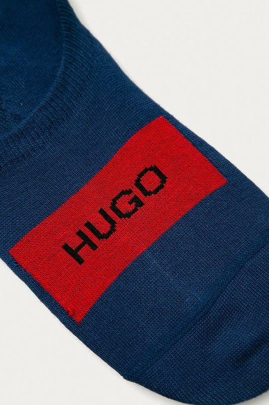 Hugo - Kotníkové ponožky (2-pack) námořnická modř