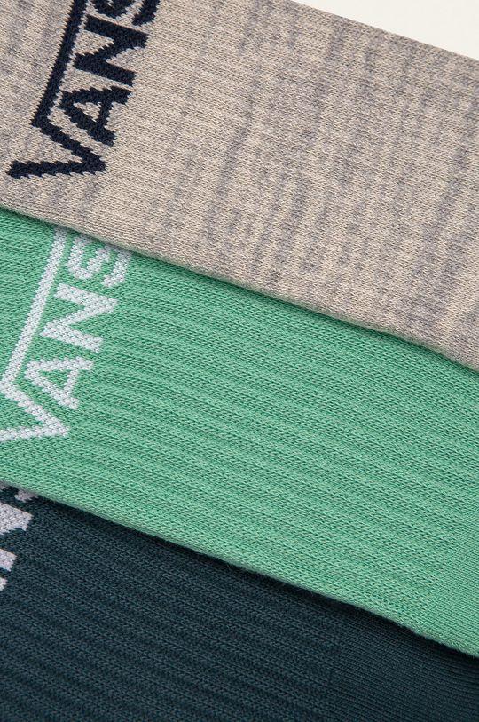 Vans - Ponožky (3-pack) zelená