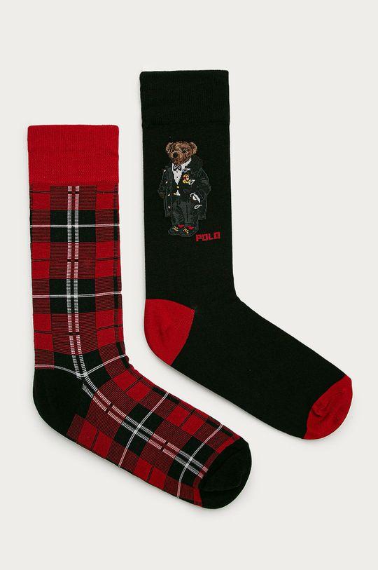 vícebarevná Polo Ralph Lauren - Ponožky (2-pack) Pánský