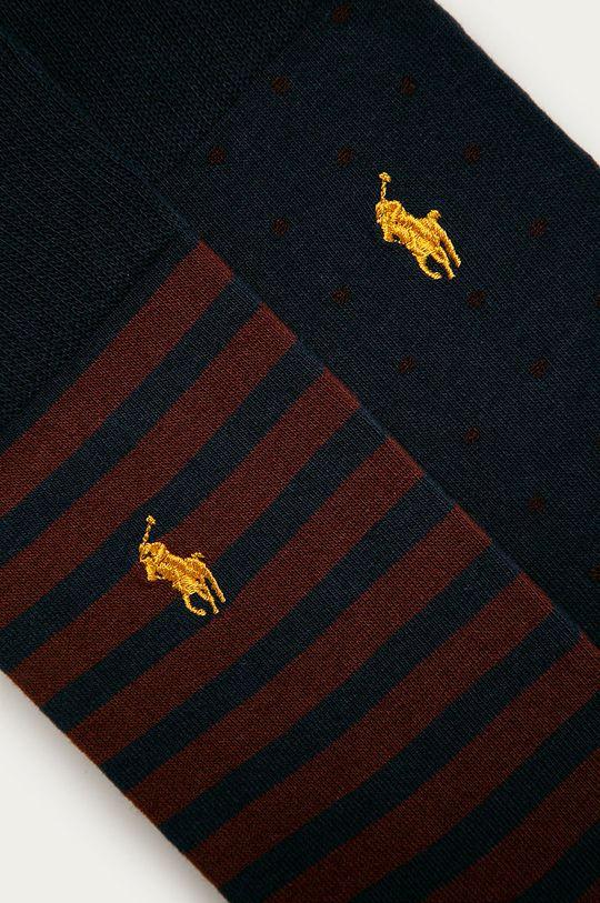 Polo Ralph Lauren - Ponožky (2-pack) námořnická modř
