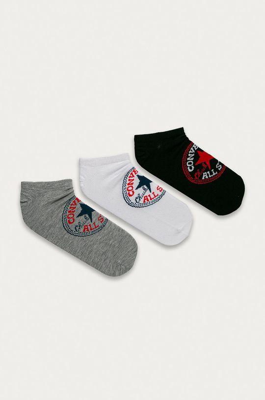 vícebarevná Converse - Kotníkové ponožky (3-pack) Pánský