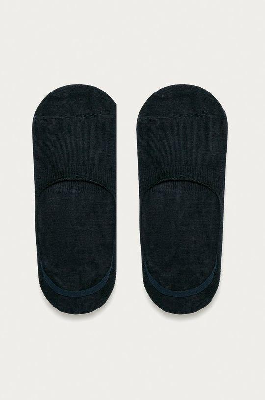 námořnická modř John Frank - Kotníkové ponožky (3-pack) Pánský