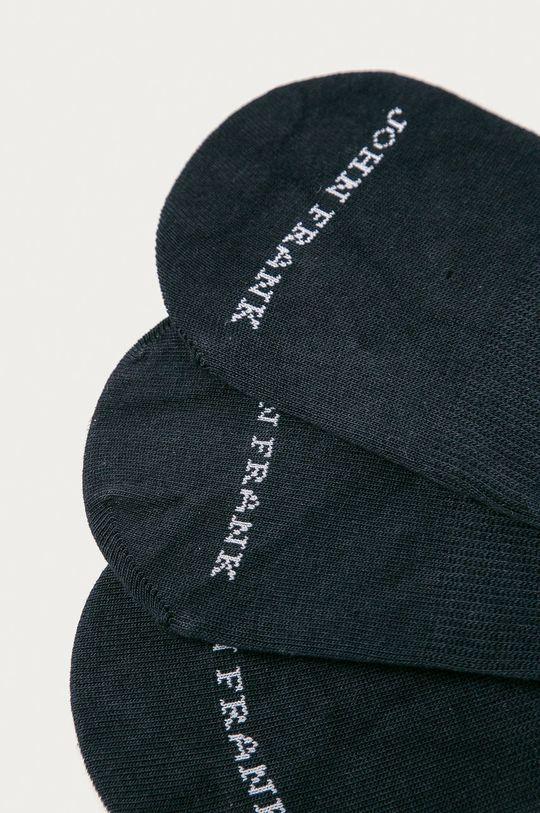 John Frank - Kotníkové ponožky (3-pack) námořnická modř