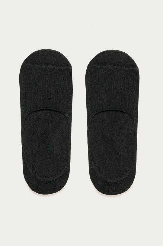 černá John Frank - Kotníkové ponožky (3-pack) Pánský