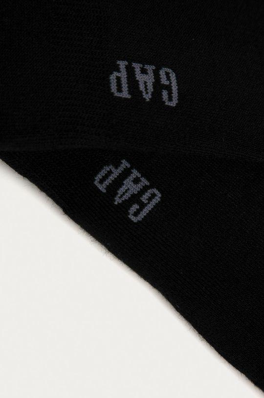 GAP - Členkové ponožky (2-pak) čierna