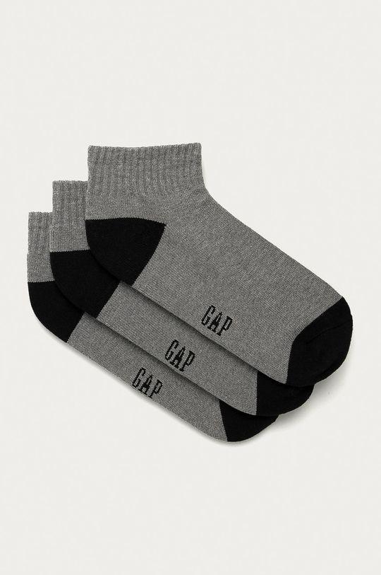 sivá GAP - Ponožky (3-pak) Pánsky