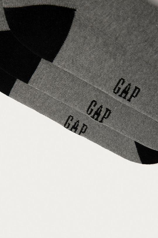 GAP - Ponožky (3-pak) sivá