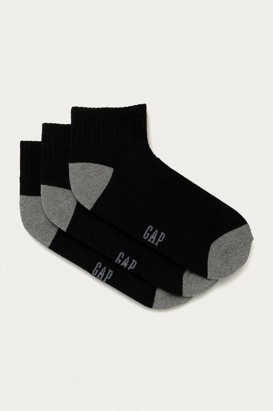 čierna GAP - Ponožky (3-pak) Pánsky