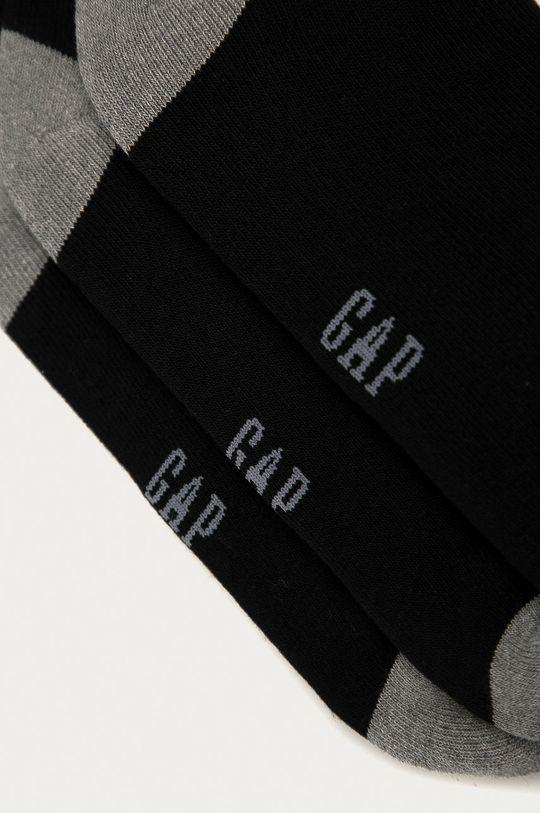 GAP - Ponožky (3-pak) čierna
