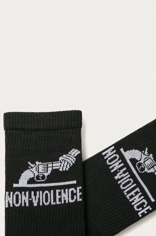 Jack & Jones - Ponožky (3-pak) čierna