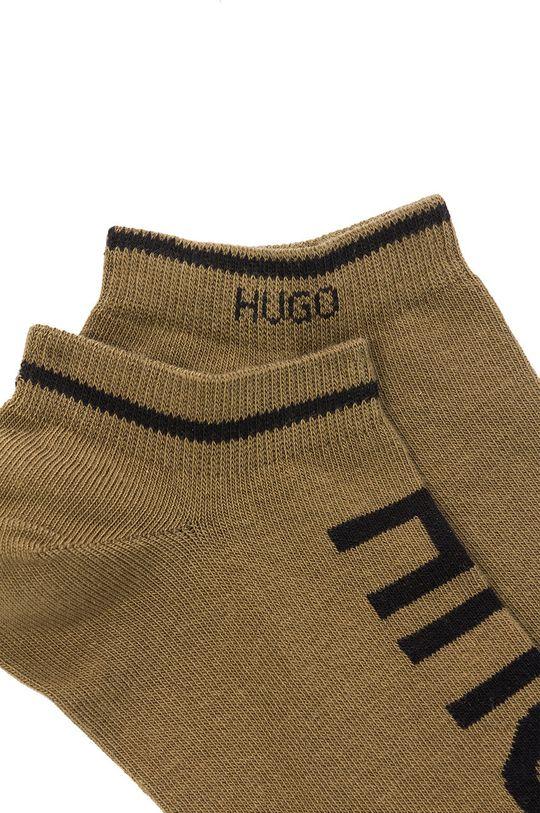 Hugo - Stopki (2-pack) oliwkowy