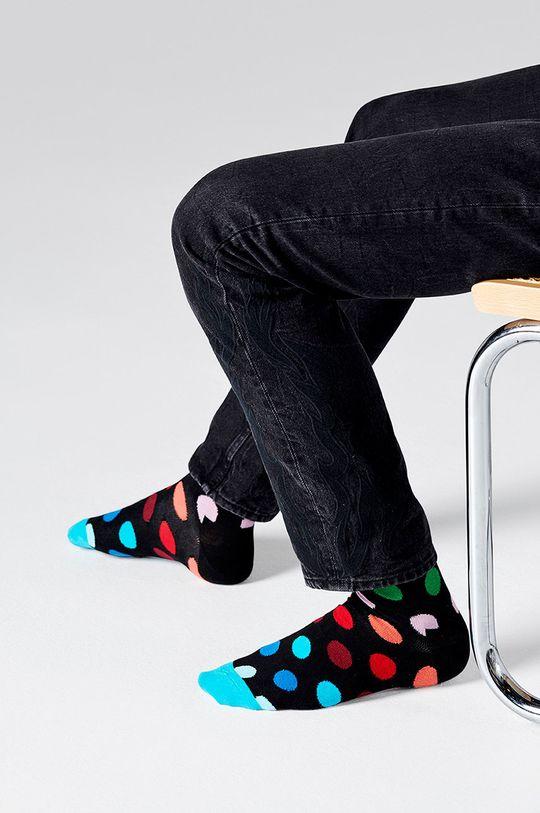 Happy Socks - Ponožky Big Dot (2-pack) černá