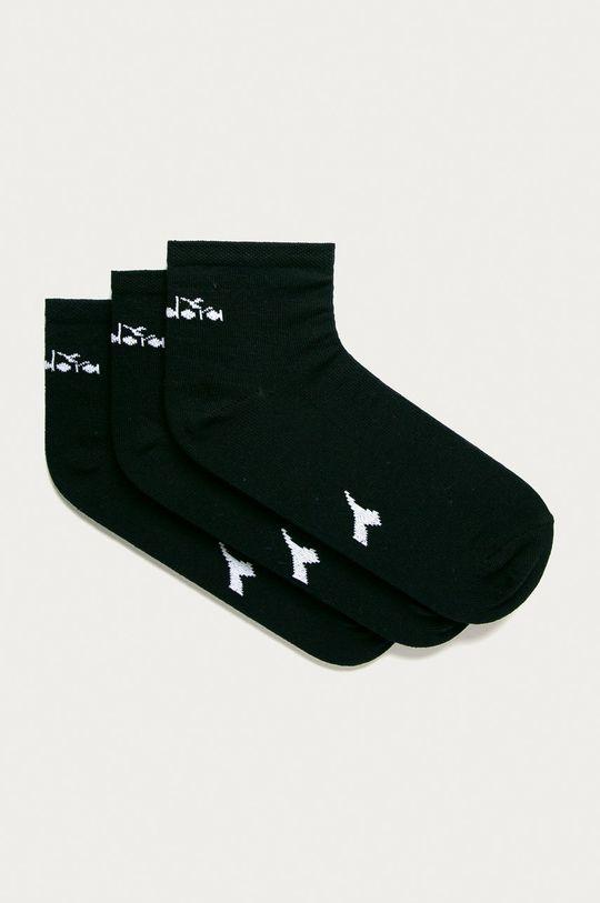 tmavomodrá Diadora - Členkové ponožky (3-pak) Pánsky