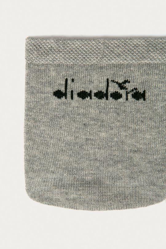 Diadora - Členkové ponožky (3-pak) sivá