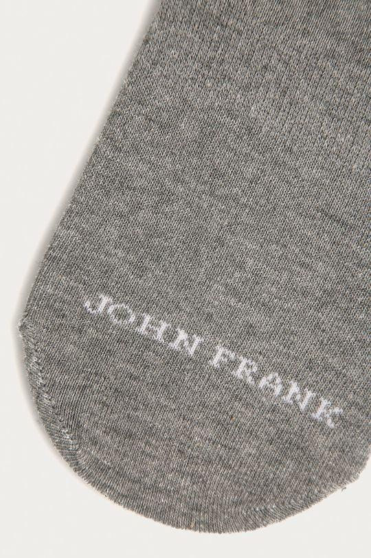 John Frank - Kotníkové ponožky šedá
