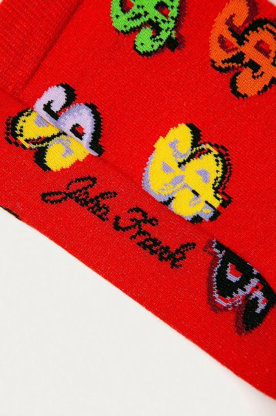 John Frank - Ponožky červená