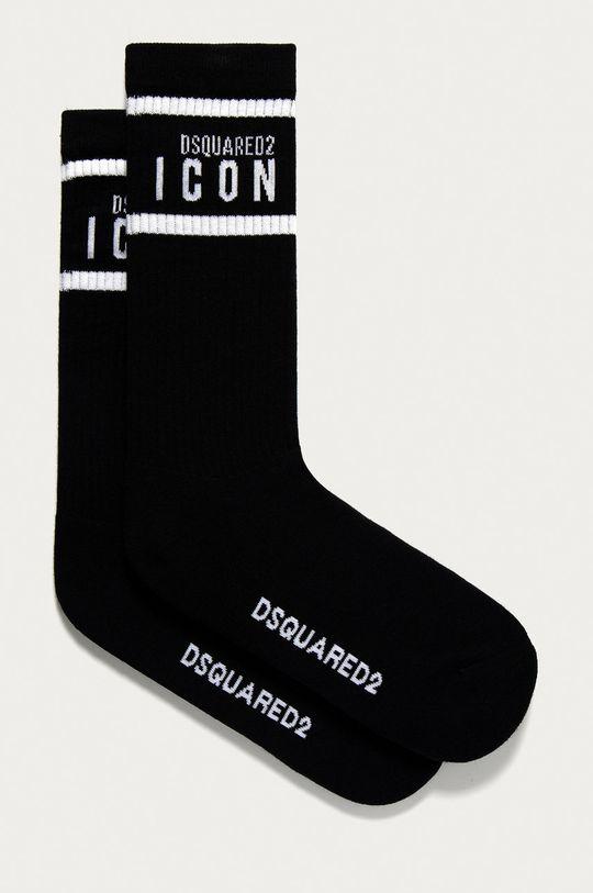 černá DSQUARED2 - Ponožky Pánský