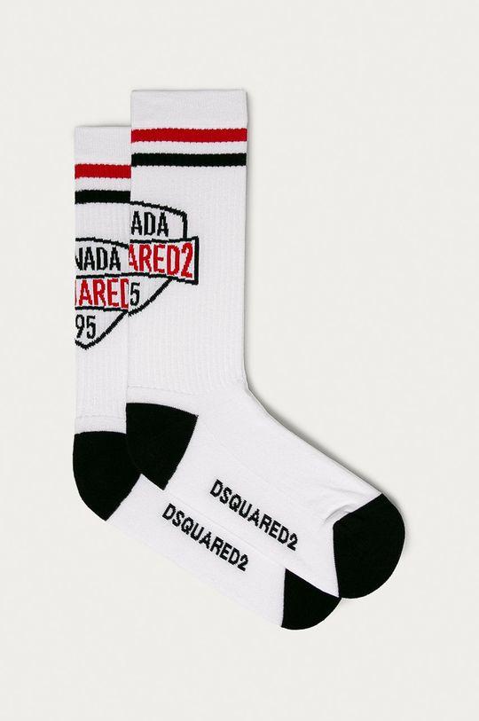biela DSQUARED2 - Ponožky Pánsky