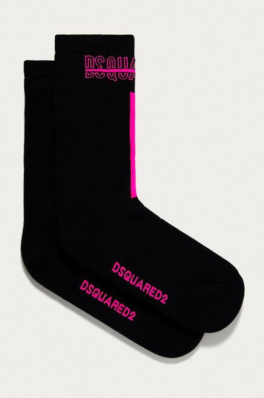 čierna DSQUARED2 - Ponožky Pánsky