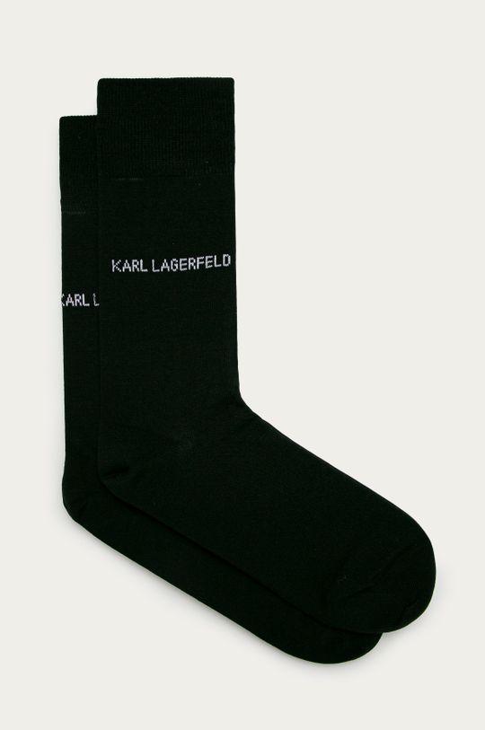 černá Karl Lagerfeld - Ponožky Pánský