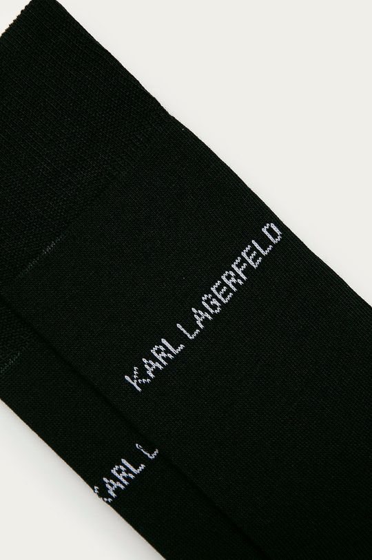 Karl Lagerfeld - Ponožky černá