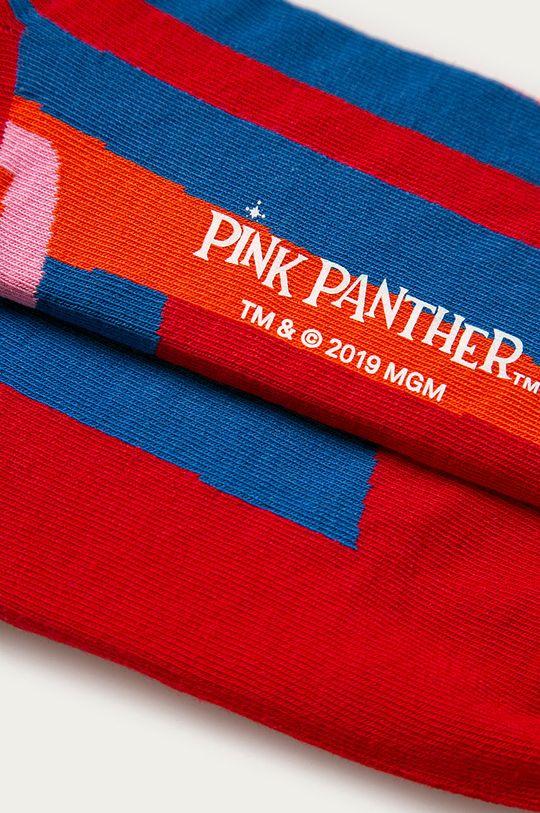 Happy Socks - Ponožky Pink Panther červená
