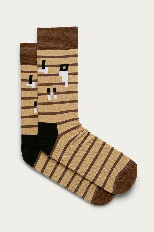 viacfarebná Happy Socks - Ponožky x Minecraft Pánsky