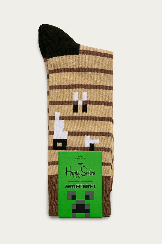Happy Socks - Ponožky x Minecraft  76% Bavlna, 2% Elastan, 22% Polyamid