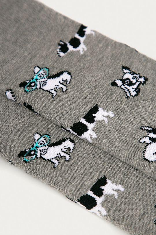 John Frank - Ponožky šedá