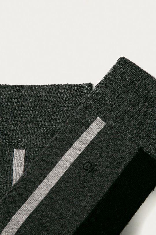 Calvin Klein - Ponožky grafitová