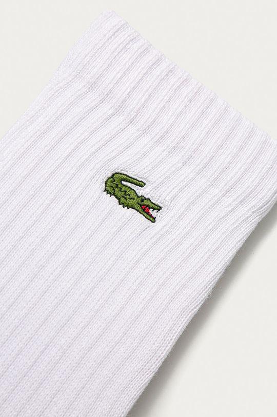 Lacoste - Ponožky (3-PACK) bílá