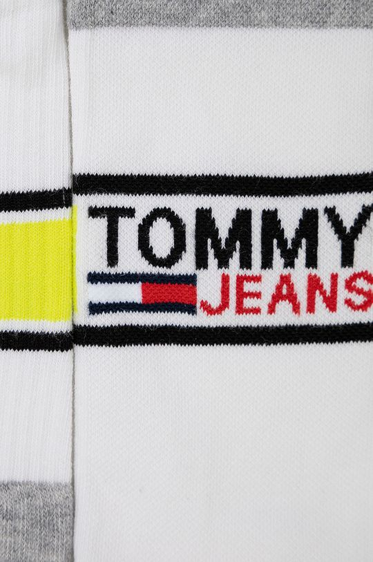 Tommy Jeans - Sosete (2-pack) alb