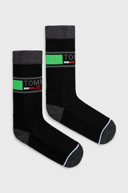 čierna Tommy Jeans - Ponožky (2-pak) Unisex
