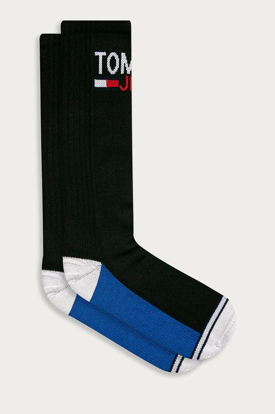 černá Tommy Jeans - Ponožky (2-pack) Unisex