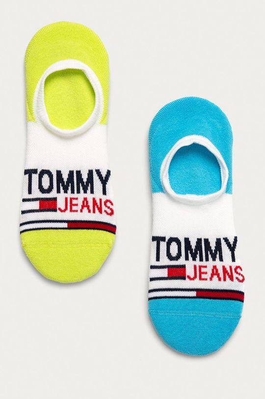 zielony Tommy Jeans - Stopki (2-pack) Unisex