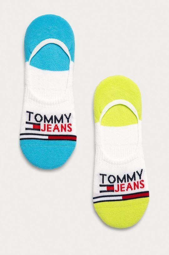 zelená Tommy Jeans - Kotníkové ponožky (2-pack) Unisex