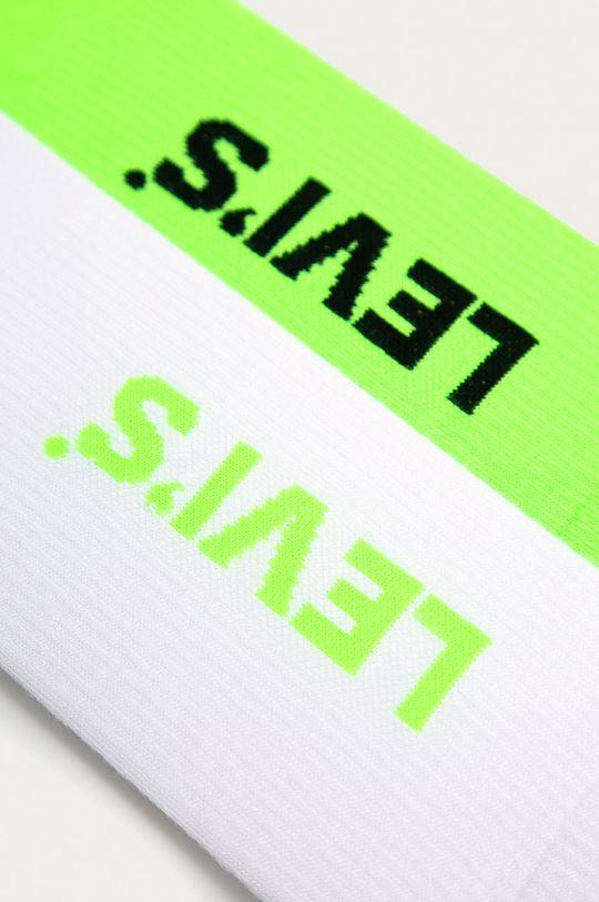Levi's - Ponožky (2-pak) žlto-zelená
