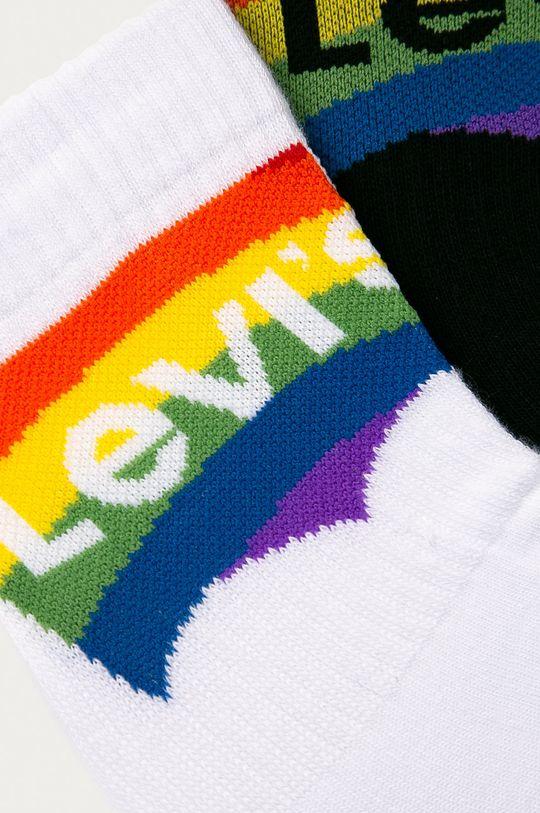 Levi's - Ponožky (2-pack) bílá