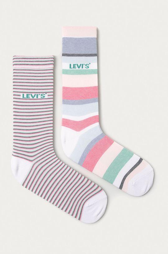 růžová Levi's - Ponožky (2-pack) Unisex