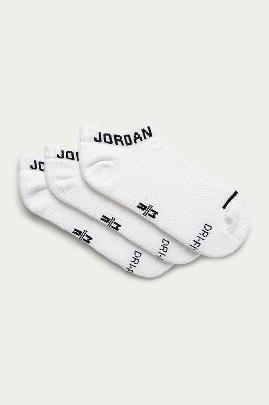 biały Jordan - Stopki (3-pack) Unisex