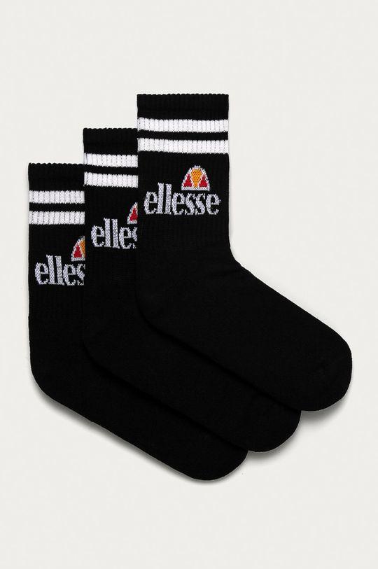 černá Ellesse - Ponožky (3-pack) Unisex