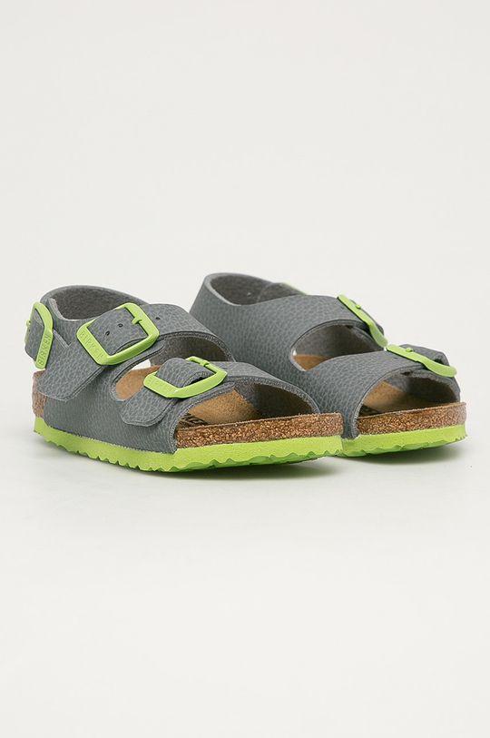 Birkenstock - Dětské sandály Milano Kinder šedá